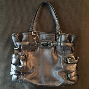 Michael Kors Metallic Silver Gansavoort Handbag